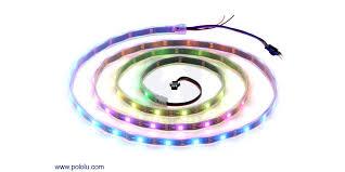 Addressable RGB 60-LED Strip, 5V, 2m (WS2812B) - Pololu