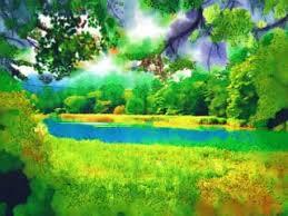 Resultado de imagen de dibujo de paisajes a color