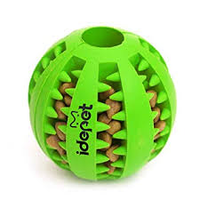 Idepet <b>Dog Toy</b> Ball, Nontoxic <b>Bite</b> Resistant Dog Chew Ball Food ...