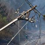 PG&E keeps nearly 60000 Northern California customers in the dark to reduce wildfire risk