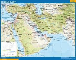 Resultado de imagen para mapa medio oriente