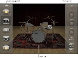 MainStage <b>Drum Kit</b> Designer overview - Служба поддержки Apple