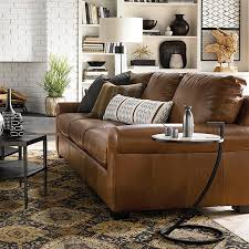 Leather Living Room Set By Bassett Furniture