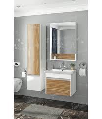 <b>Комплект мебели подвесной</b> Francesca Doremi <b>60</b> (белый/ясень ...