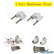 "Pair <b>Polish</b> ATV Dirt <b>Bike Aluminum</b> 1 1/8"" <b>Bars</b> 30mm <b>Handlebar</b> ..."