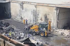 Gaziantep'te yanan fabrikanın sahibine hala ulaşılamadı