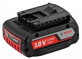 <b>Аккумулятор GBA</b> (<b>18</b> В; 2.0 А*ч; Li-Ion) <b>Bosch</b> 1.600.A00.3NC