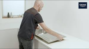 Как просто установить <b>кухонную мойку GROHE</b>? - YouTube