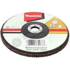 <b>Круг лепестковый торцевой Makita</b> 125 мм x 22 мм, K80 — купить ...