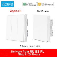 Xiaomi <b>Aqara</b> D1 Wall Switch ZigBee <b>Smart Light</b> Remote Control ...