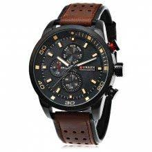 <b>CURREN 8250 Casual Men</b> Quartz Watch | Мужские часы, Часы ...