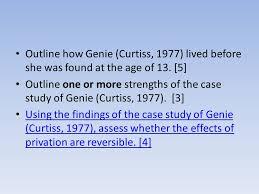 Child Psychology  Curtiss      Study of Genie Video Genie