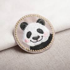 DIY clothes decoration <b>patch</b> pattern( Panda rabbit cat) | Shopee ...