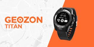 <b>Умные часы</b>-телефон <b>GEOZON</b> TITAN