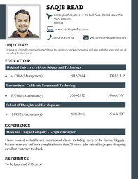 resume format example new  seangarrette coprofessional fresh students cv template format resume sample new   resume format example