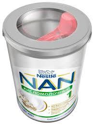 Купить <b>Смесь NAN</b> (Nestlé) <b>Кисломолочный</b> 1 (с рождения) 400 г ...