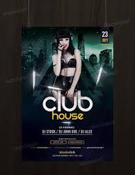 get club house flyer template photoshop flyershitter com