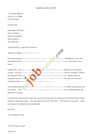 sample of resume cover letter com sample of resume cover letter to inspire you how to create a good resume 9