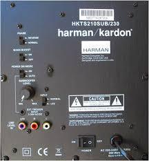 <b>Активный сабвуфер Harman/Kardon</b> HKTS 210 SUB