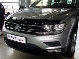 <b>Дефлектор капота SIM</b> для Volkswagen Tiguan (2017-2020 ...
