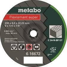 Абразивный круг по камню <b>Metabo Flexiamant</b> Super, D230 мм в ...