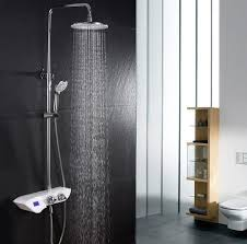 thermostatic brand bathroom: digital shower thermostat font b digital b font font b thermostatic b font font b shower b font