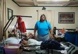 flint water crisis a visual essay unheeded warnings detroit as the healthiest person in her family in 2016 lisa gaines of flint is sometimes overwhelmed by the task of caring for her elderly