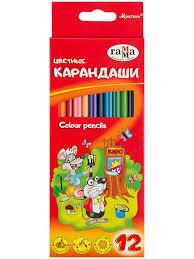 """<b>Карандаши цветные</b> """"<b>Мультики</b>"""", 12цв. <b>Гамма</b>.. 7595204 в ..."""