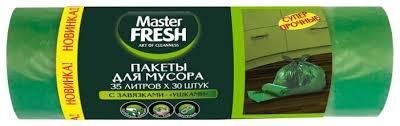 <b>Мешки для мусора</b> Master <b>FRESH</b> С0006164 35 л (30 шт ...