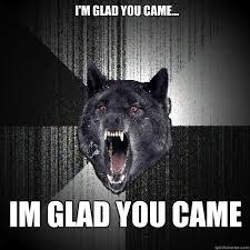 Insanity Wolf memes | quickmeme via Relatably.com