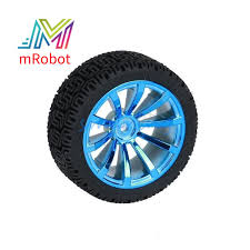 68x27mm <b>Rubber Wheel</b> for <b>Tracking</b> Model Car <b>Robot</b> Accessories ...