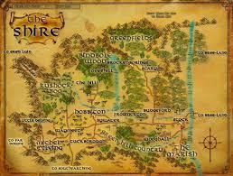 Résultat de recherche d'images pour 'lord of the rings map'