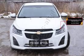 <b>Накладки на передние фары</b> (реснички) Chevrolet Cruze I 2012 ...