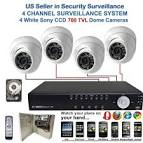 Home security camera with recording