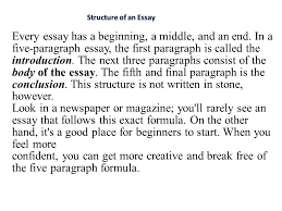 every essay has a beginning a middle and an end in a five  every essay has a beginning a middle and an end in a five