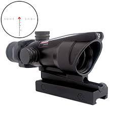 CRUSHUNT 4x32 Scope Hunting RifleScopes Red ... - Amazon.com