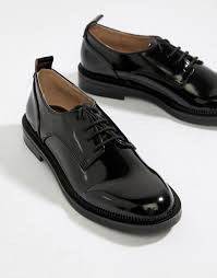 Bershka | <b>Лакированные</b> броги Bershka | Броги, Оксфорд обувь ...