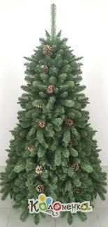 Искусственная <b>ель Crystal Trees Триумфальная</b> с шишками 120 ...