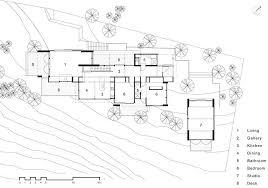 Bethells Beach House   Auckland Property   e architectOgle House main floor plan