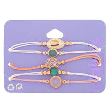 Pastel Cowrie Shell <b>Adjustable</b> Bracelets - <b>5</b> Pack | Claire's