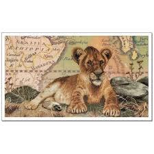 "<b>Нова</b> Слобода СР-4231 ""Царевич"" | Lion sculpture, Embroidery kits ..."