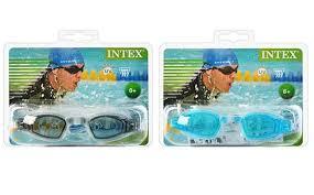 <b>ИНТЕКС Очки</b> для плавания <b>Free Style</b> Sport, 3ц, от 8 лет 55682 1 ...