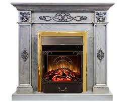 <b>Камин Royal Flame DERBY</b> Old Silver + Fobos / Majestic купить