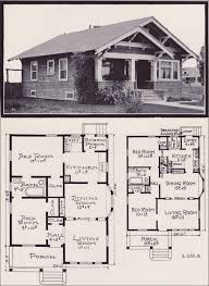 s House Plans by the E  W  Stillwell  amp  Co    Side Gable     Stillwell   Plan No  L