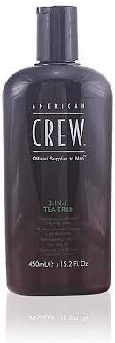 <b>American Crew 3-in-1</b> Tea Tree Shampoo, Conditioner & Body ...