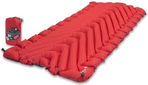 Надувной <b>коврик Klymit Insulated Static</b> V Luxe, красный купить в ...
