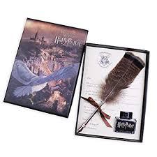 Antique <b>Dip</b> Pen Set Writing <b>Quill Feather</b> Pen Ink Set -<b>Retro</b> Feather