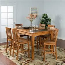 designs sedona table top base: sunny designs sedona pc counter ht slate top dinette