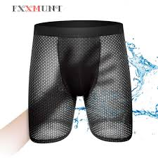 <b>Gauze Shorts Boxers Long</b> Men Ethika Mens Underwear Mesh ...