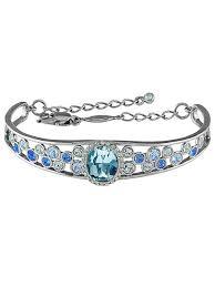 <b>Браслет</b> Sensuelle <b>Aqua</b> с голубыми кристаллами Swarovski ...
